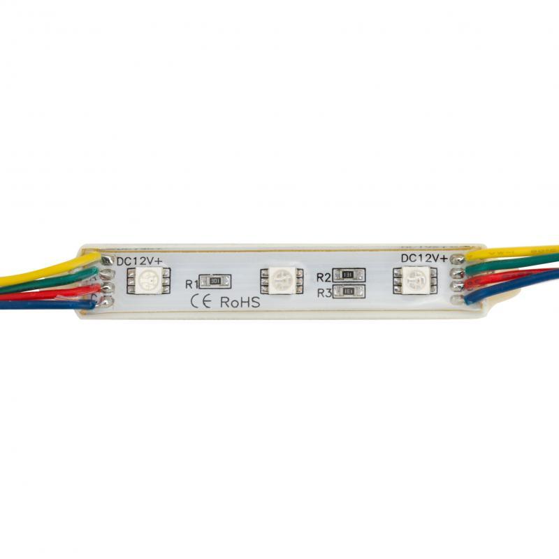 Módulo de 3 LEDs SMD5050 0,72W - Imagen 1