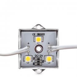 Módulo de 3 LEDs Aluminio SMD5050 de 0,72W