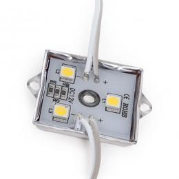 Módulo de 3 LEDs Aluminio SMD5050 0,72W - Imagen 2