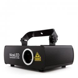 Efecto Laser Multi Color RGB Rojo/Verde/Azul/Blanco Mezcla (100 + 30 + 100mW 470nm) - Imagen 1