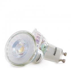 Bombilla Foco Led PHILIPS 4,6W 390Lm GU10 50D (Blister 2 Unidades) - Blanco Natural - Imagen 1