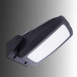 Aplique para Exterior Fumagalli GIOVA/GERMANA Negro E27 Difusor Opal - Imagen 1