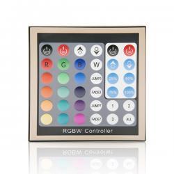 Panel y Mando a Distancia para Tiras Led RGBW 12-24VDC hasta 192/384W - Imagen 1