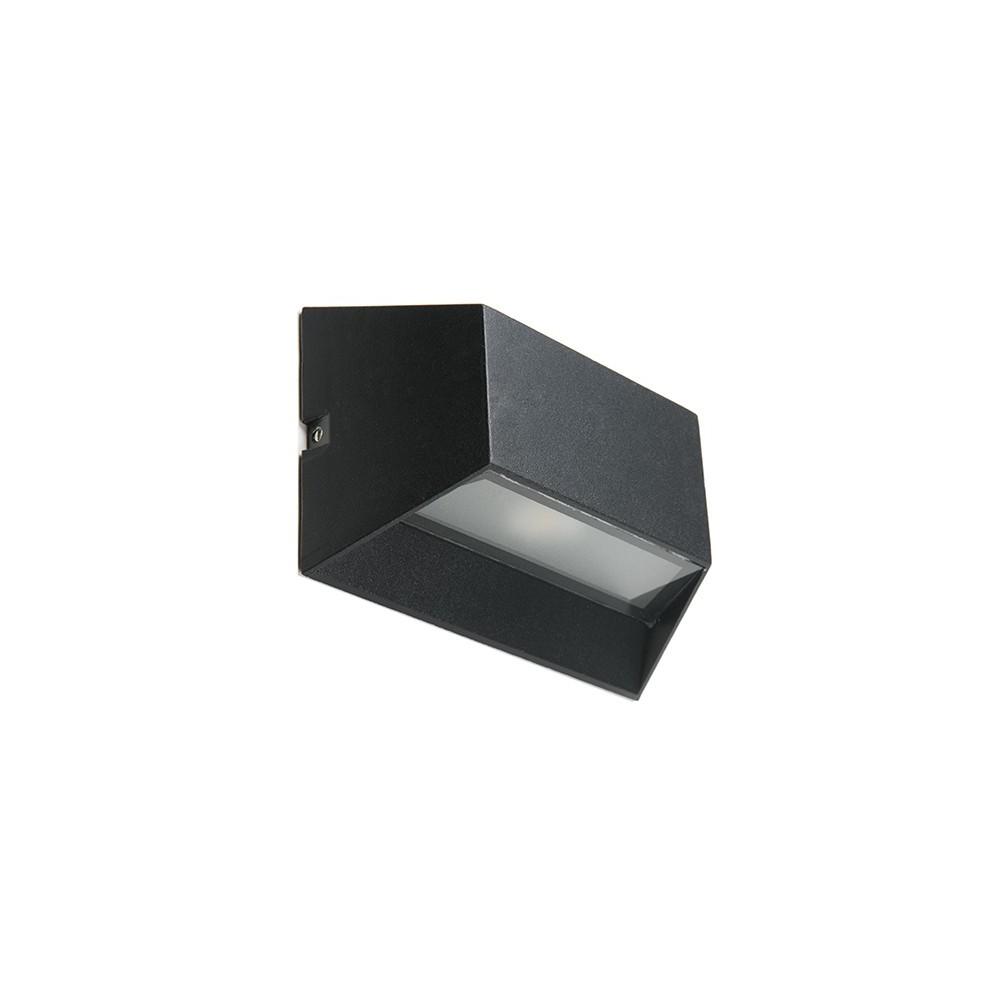 Aplique de leds cree para exterior ip65 6w 510lm for Aplique exterior solar led