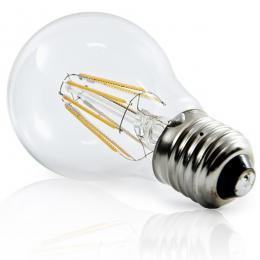 Pack de 10 Lámparas Bombilla Filamento LED E27 4W 380Lm 30.000H - - Imagen 2