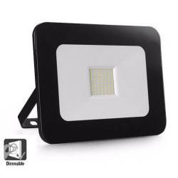 Foco Proyector Exterior LED Luxury 10W Negro  120Lm/W - Imagen 1