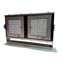 Proyector Marino 400W IP67-IK10 Estructura Acero Inox-Disipador Aluminio