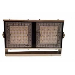 Proyector Deportivo Regulable LED 500W IP67-IK10 Acero Inoxidable + Aluminio Disipador