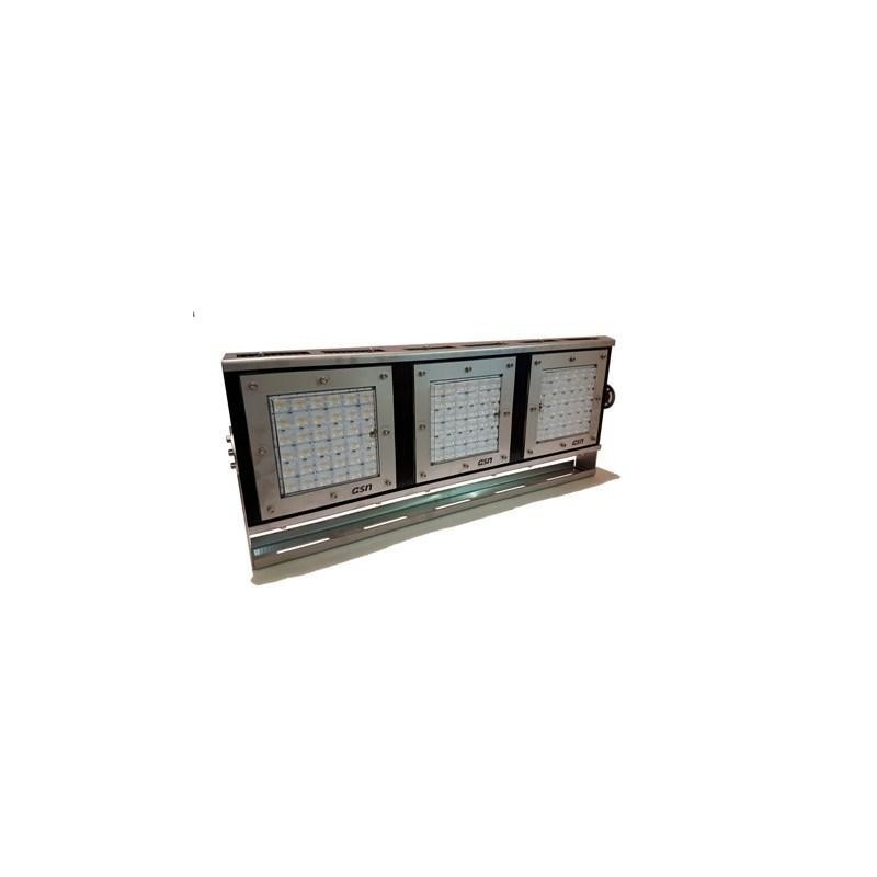 Proyector Deportivo Regulable LED 750W IP67-IK10 Acero Inoxidable + Aluminio Disipador