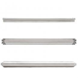 Regleta de Aluminio con Reflector para dos Tubos Led T8 1500mm - Imagen 2