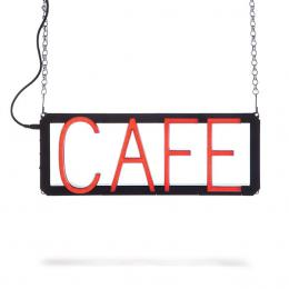Enseigne au NEON LED pré-conçu CAFE - Imagen 2