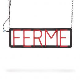 Enseigne au NEON LED pré-conçu FERME - Imagen 2