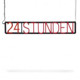 Vorgestaltetes Zeichen 24 STUNDEN - Imagen 2