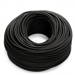 Cable Redondo 2x0,75 Negro - Imagen 1