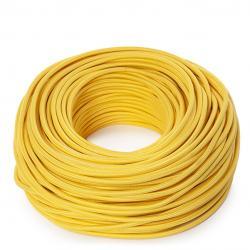 Cable Redondo 2x0,75 Amarillo - Imagen 1