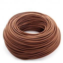 Cable Redondo 2x0,75 Marron - Imagen 1