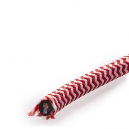 Cable Redondo 2x0,75 Rojo/Blanco - Imagen 2