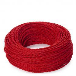 Cable Trenzado 2x0,75 Rojo - Imagen 1