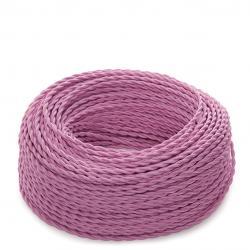 Cable Trenzado 2x0,75 Rosa - Imagen 1