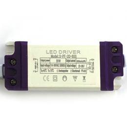 Driver para luminarias LED de 20W  600mA - Imagen 2