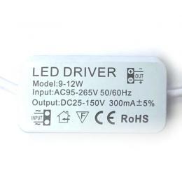 Driver para luminarias LED de 9W a 12W  300mA - Imagen 2