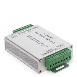 Amplificador RGB 5 Canales 12-24VDC  Max.180/360W - Imagen 2