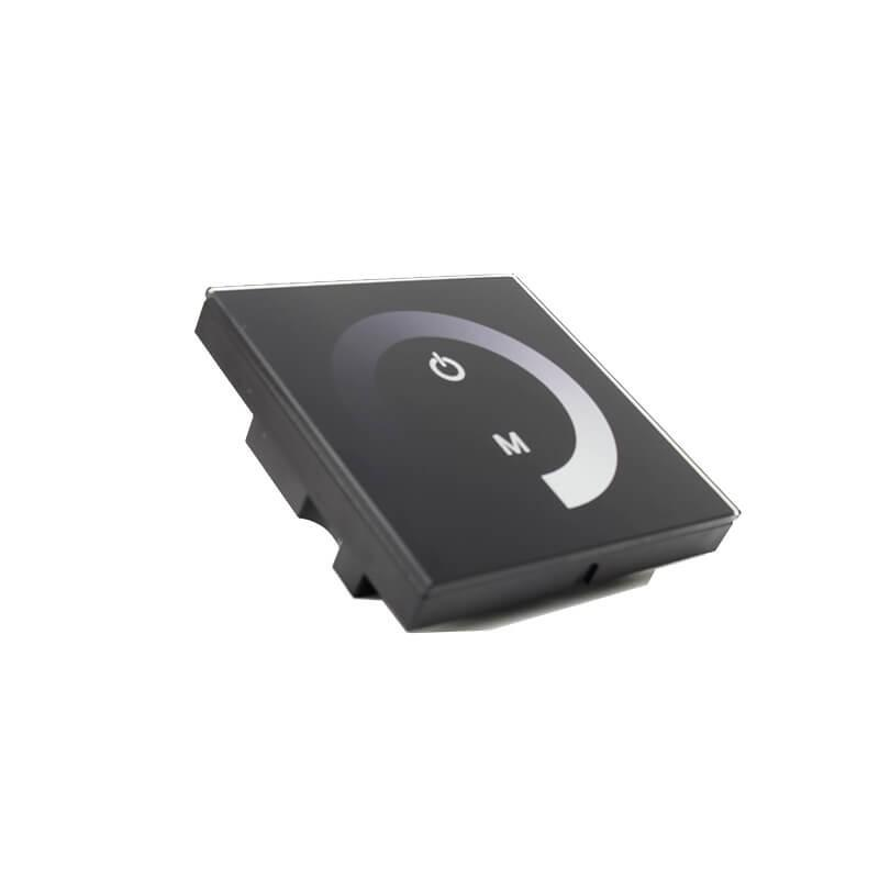 Controlador Empotrable táctil Monocromático para tiras LED - Imagen 1