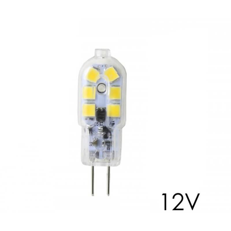 Bombilla LED G4 2,5W blanco neutro 4000K 12V DC - Imagen 1