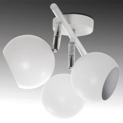 Aplique para tres bombillas GU10 (sin bombillas)