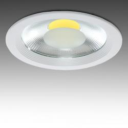 Foco Downlight  LED COB Circular 30W 2700Lm 30.000H