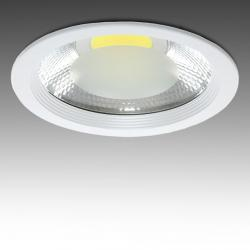 Downlight Led Cob Circular 40W 3600Lm 30,000H