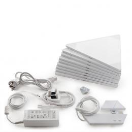 Nanoleaf Kit 9 Paneles Led Wifi + Unidad De Control + Rhythm - Imagen 2