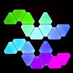 Nanoleaf Kit 9 Paneles Led Wifi + Unidad De Control Aurora - Imagen 1