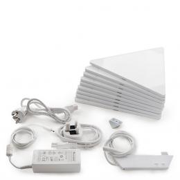 Nanoleaf Kit 9 Paneles Led Wifi + Unidad De Control Aurora - Imagen 2