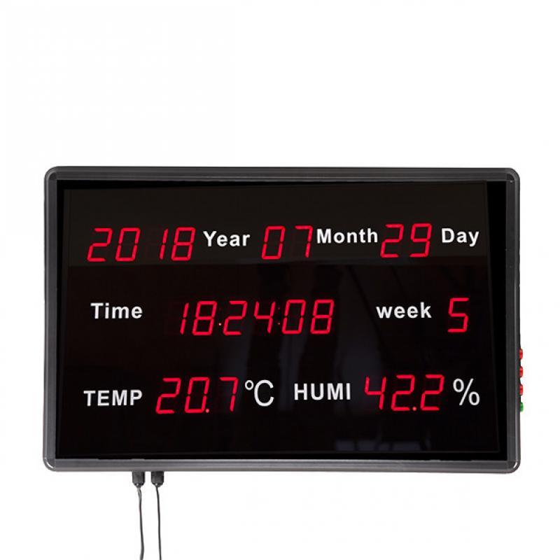 Panel Display LED Hora/Fecha/Semana/Temperatura/Humedad 60,1 x 38,3 x 5,5mm - Imagen 1