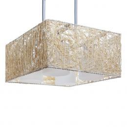 Lámpara Alexandra 4 X E27 (Sin Bombillas) Crema - Imagen 2