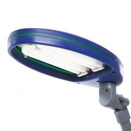 Lámpara De Mesa De Bajo Consumo 9W (Bombillas Incluidas) Flor Azul - Imagen 2