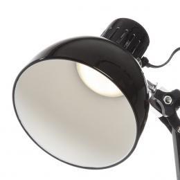 Lámpara De Mesa Led Zaha Negro 6W 360Lm 30,000H Blanco Natural - Imagen 2