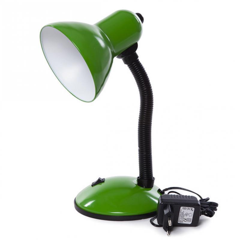 Lámpara De Mesa Led Parga Verde 6W 350Lm 30,000H Blanco Natural - Imagen 1