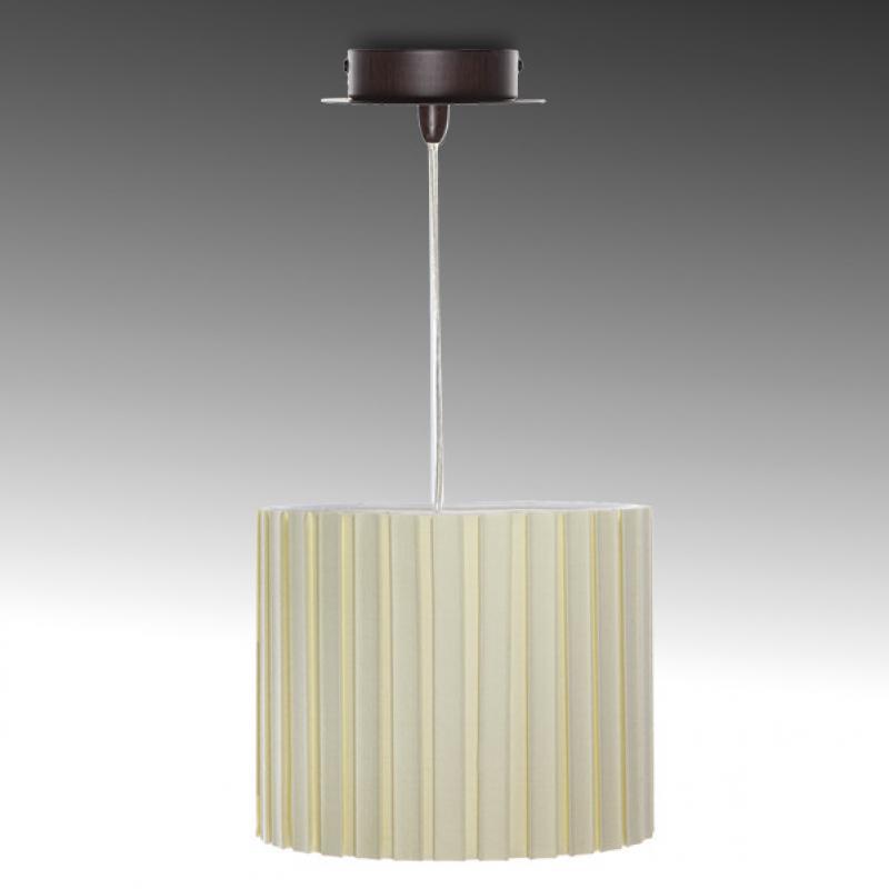 Lámpara De Techo Elos Crema 1 X E14 (Sin Bombilla) - Imagen 1