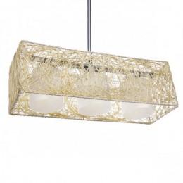 Lámpara Alexandra 3 X E27 (Sin Bombillas) Crema
