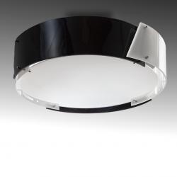 Plafón Argus 4 X E27 (Sin Bombillas) Negro