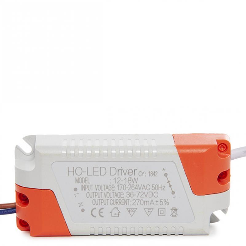 Driver No Dimable 0.95 F.P. 50.000H para Focos/Downlights LEDs 12W - Imagen 1