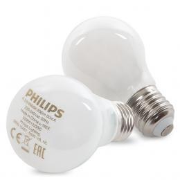 Bombilla LED Philips E27 A60 4,5W 470Lm Blanco Frío (2 Unidades) - Imagen 2