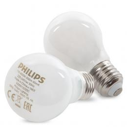 Bombilla LED Philips E27 A60 7W 806Lm Blanco Natural (2 Unidades) - Imagen 2