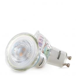 Bombilla LED Philips Gu10 36D 3,5W 255Lm Blanco Cálido (2 Unidades) - Imagen 2