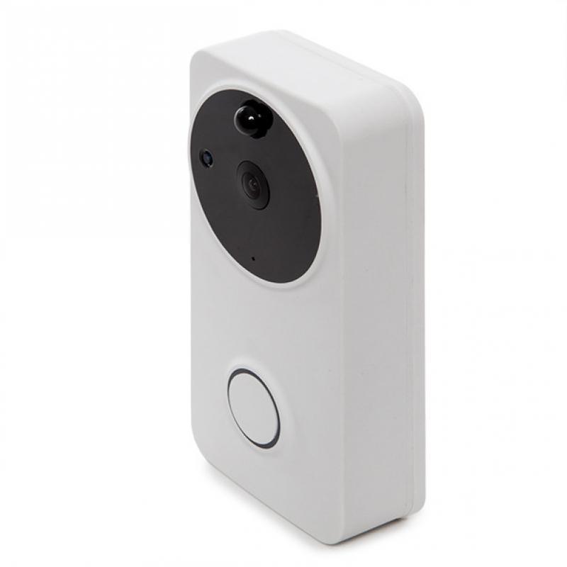 Interfono Wifi 1Mp - Audio Bidireccional - Detección Movimiento-Sonido - Visión Nocturna - Compatible Alexa-Google Home - Imagen