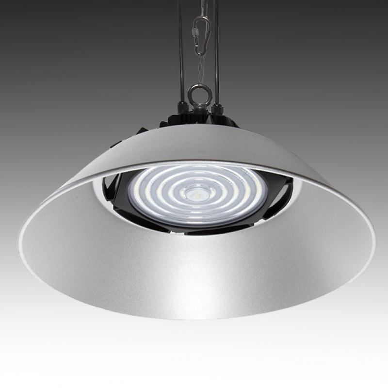 Campana LED IP66 185W 160Lm/W Philips 3030 90º Driver Meanwell HBG - Imagen 1
