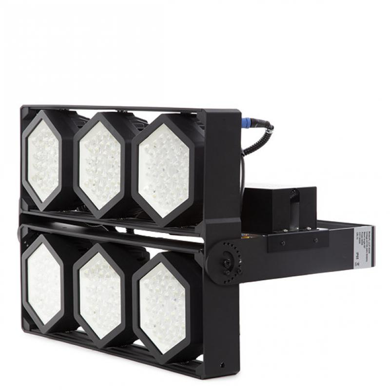Foco Proyector LED IP66 600W 145Lm/W Cree 3030 60º Driver Meanwell HLG - Imagen 1
