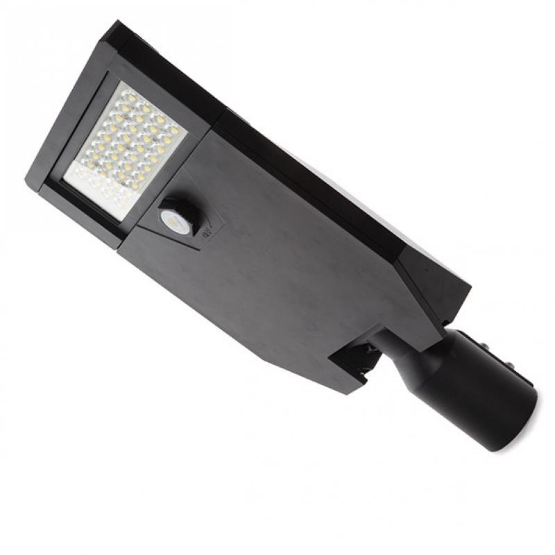 Farola LED IP66 60W 145Lm/W Cree 3030 Negro Driver Meanwell HLG - Imagen 1